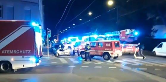 In einem Wohnheim in Wien-Leopoldstadt brannte es am Freitag.