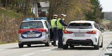 Ausreisekontrollen für nächste Salzburger Gemeinde
