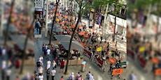 Pelz-Demo auf Wiener Shoppingmeile sorgt für Aufsehen