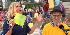 """""""Ähhh..."""" – Kiewel blamiert Zuschauer im Fernsehgarten"""