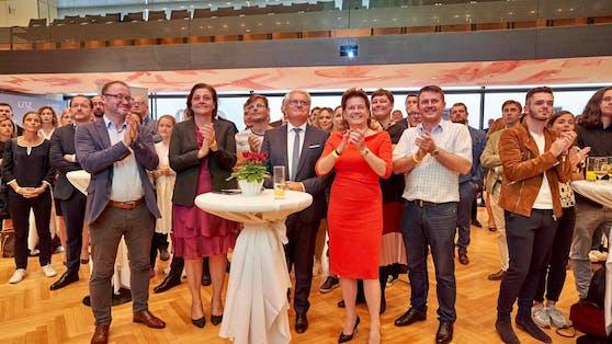 Die SPÖ freut sich über ein gutes Ergebnis in LInz.