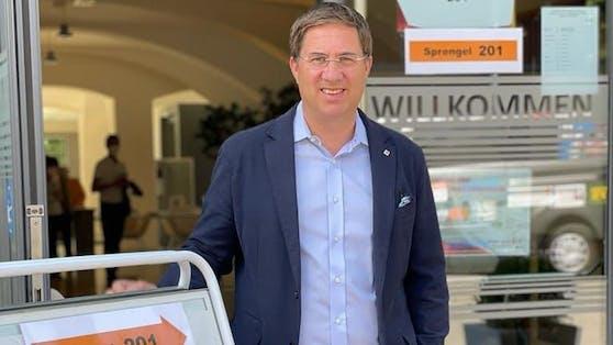 Bürgermeister Andreas Rabl und sein Team triumphieren in Wels.