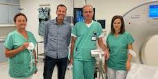 Nierentumor in NÖ erstmals durch Vereisung entfernt