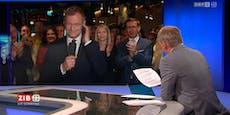 """""""Nicht klatschen"""" – Wolf verärgert über VP-Jubelin ZIB"""