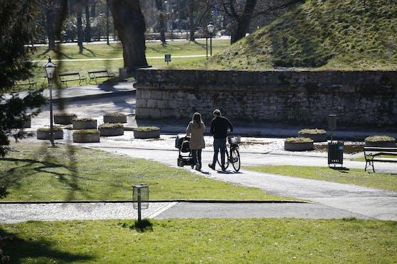 Im Grazer Stadtpark kam es zu eine brutalen Überfall.