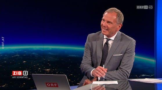 Lauter Jubel von LH Stelzers VP-Freunden störte immer wieder das Live-Interview mit Armin Wolf.