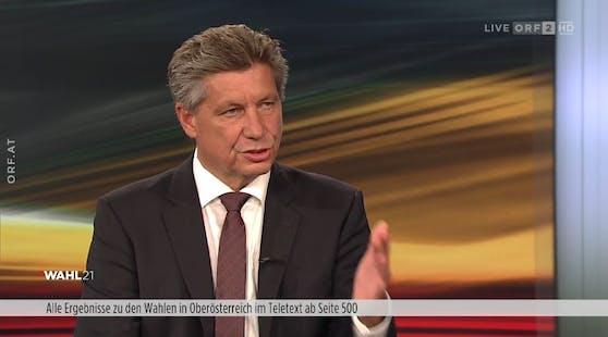 ORF-Journalist Hans Bürger wettert live im TV