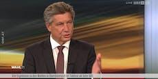 Hans Bürger wettert live im TV über ORF-Experten