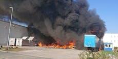Großbrand in steirischem Magna-Werk ausgebrochen