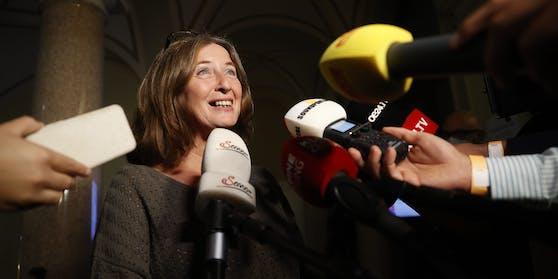 Ziemlich sicher die nächste Bürgermeisterin von Graz: Elke Kahr von der KPÖ.