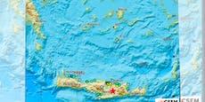 Erdbeben der Stärke 5,6 erschüttert Griechenland