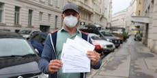 Mann muss 216 € blechen, weil Parkpickerl-Brief nie kam