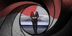 """ORF-Moderator Tarek Leitner macht in """"ZiB"""" live auf 007"""