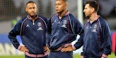 Dicke Luft im Paris-Sturm - Mbappe schimpft über Neymar