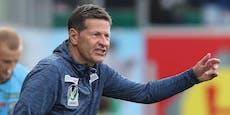 Ried-Coach Heraf kassiert eine Sperre für Auszucker