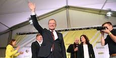 Landeschef bleibt nach Wahlsieg in Partnerfrage bedeckt