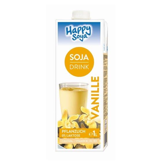 """Im """"Happy Soya Soja Drink Vanille"""" ist keine Vanille drin - nun ging's vor Gericht."""