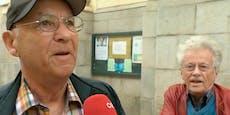 ORF befragt Mann zur OÖ-Wahl, anderer redet immer drein