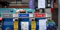 Panikkäufe – Briten geht das Benzin aus