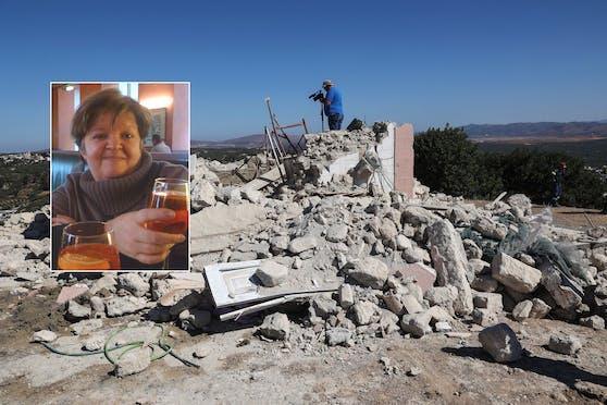 Reinhilde D. erlebte das Erdbeben auf Kreta.