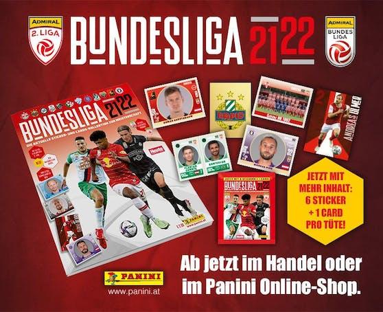 Jetzt teilnehmen & gewinnen: PANINI verlost zur neuen Bundesliga 21/22-Sammelkollektion fantastische Preise!