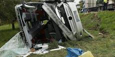 Bus-Crash mit 29 Verletzten – Opfer sind alle aus NÖ
