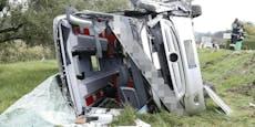 28 Verletzte bei Bus-Unfall mit Lkw in der Steiermark