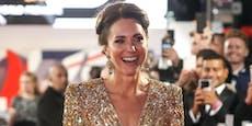 """Kate als """"Golden Girl"""" bei Premiere des neuen Bond"""