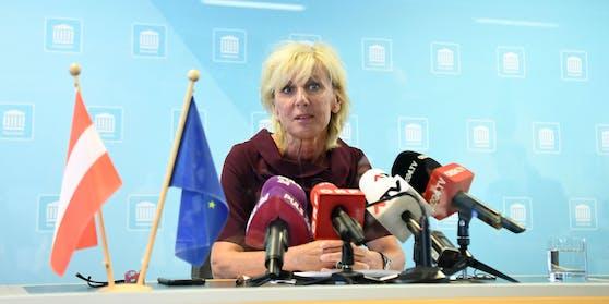 """Gaby Schwarz nahm zu """"angeblich weiteren Ermittlungsschritten gegen die ÖVP"""" Stellung (Archivbild)"""