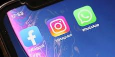 WhatsApp, Facebook und Instagram sind ausgefallen