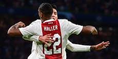 Ajax schlägt Besiktas, Donetsk punktet gegen Inter