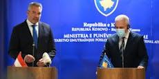 """""""Heute""""im Kosovo: Nehammer macht Rückkehr-Ansage"""