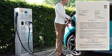 Wiener kassiert Strafzettel beim Laden von Hybrid-BMW