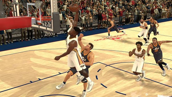 Die kostenlose App NBA 2K Mobile steht im App Store und auf Google Play zum Download bereit.
