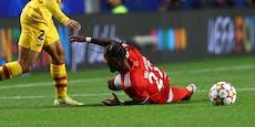 ÖFB-Zittern um Lazaro – gegen Barca verletzt raus
