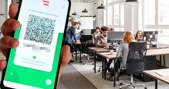 Eine 3G-Regel in der Arbeit soll bereits ab Mitte Oktober gelten.