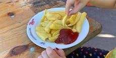 MA48 verkauft rund 30 Pommes um 4,50 € auf Mistfest