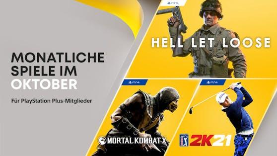 Die PlayStation Plus-Titel im Oktober für PS4 und PS5.