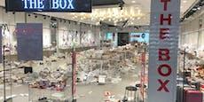 Schuh-Shop in Lugner City bei Rabattschlacht verwüstet