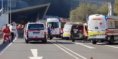 Massen-Crash mit 10 Autos aufA9 Pyhrnautobahn