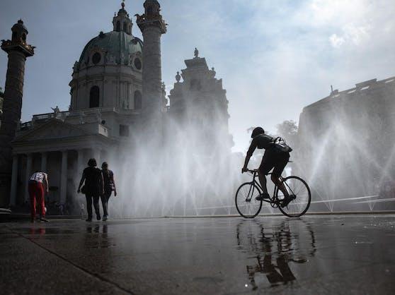 Aufgrund der Klimakrise werden die Sommer in Wien jedes Jahr heißer.