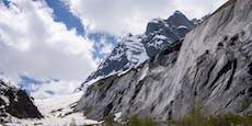 Unglaublich! Dieser Berg ist um einen Meter geschrumpft