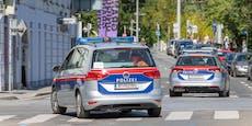 Polizei schlichtet Streit – Passant springt auf Beamten