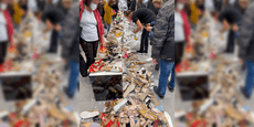 Lugner entsetzt über Schuh-Schlacht in seiner City