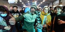 2.500 Menschen feiern illegale Silvesterparty