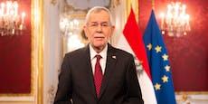 """""""Mut zum Träumen"""" – Präsident VdB macht Ansage für 2021"""