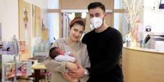 Erstes Foto – Ilyas ist Wiens Neujahrs-Baby 2021