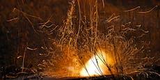 Rakete explodiert beim Aufräumen – Mann schwer verletzt