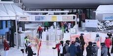 Skigebiet Semmering ist am Samstag wieder bummvoll