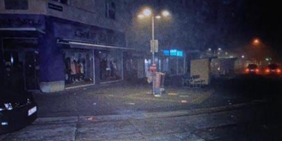 Der Reumannplatz wurde stark verwüstet.